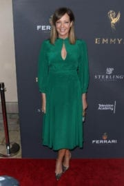 Allison Janney Stills at Emmys Cocktail Reception in Los Angeles