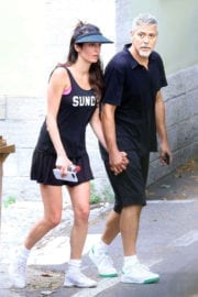 Amal and George Clooney Stills Out in Laglio