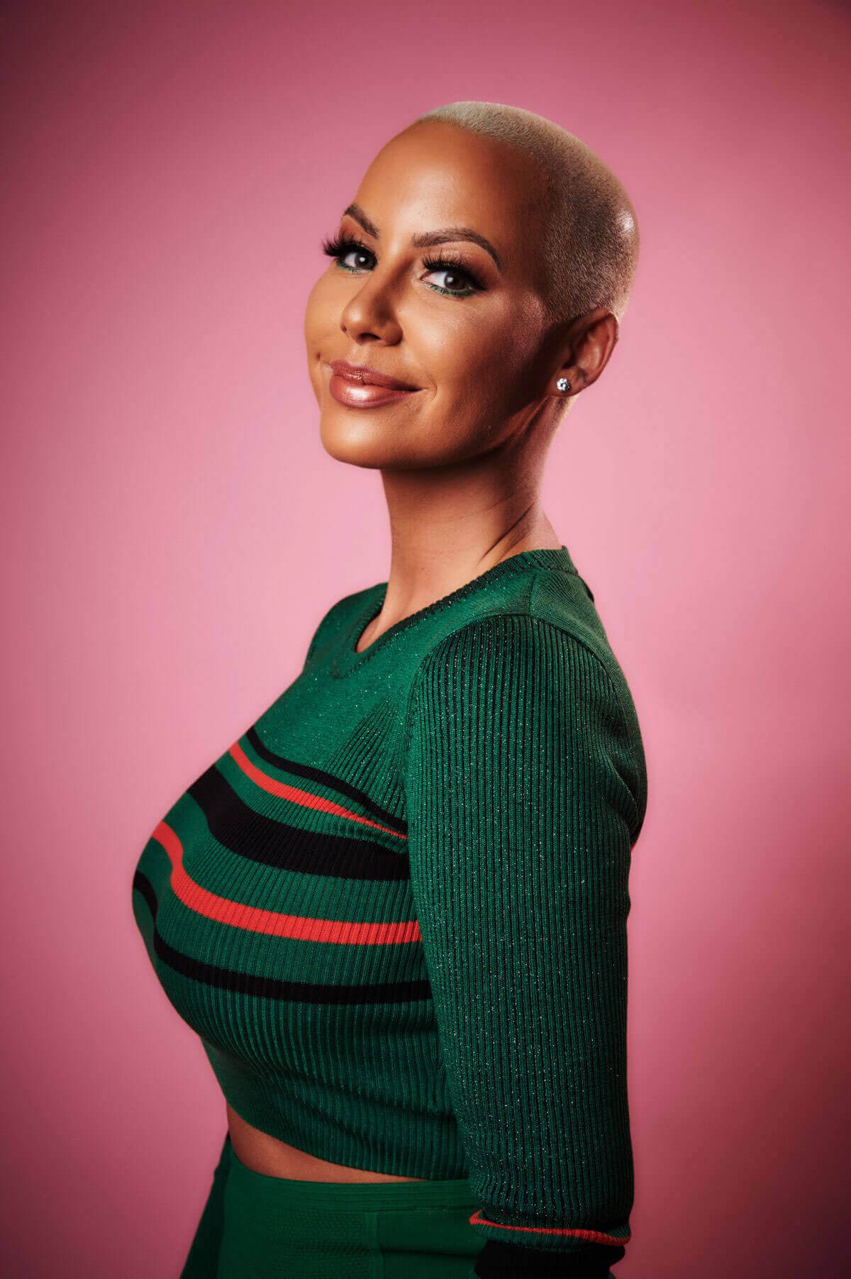 Amber Rose Photoshoot for Variety Portrait Session, 2017
