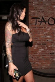 Amber Rose Stills Leaves Tao in Hollywood Photos