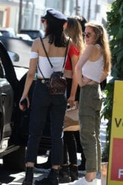 Amelia and Delilah Hamlin StillsOut for Lunch at Il Pastaio in Beverly Hills