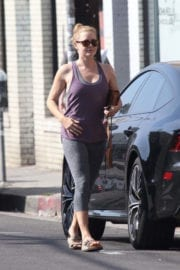 Amy Adams Stills at a Pilates Class in Hollywood
