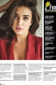 Amy Jackson Hot Poses for FHM India Magazine August 2017 Issue
