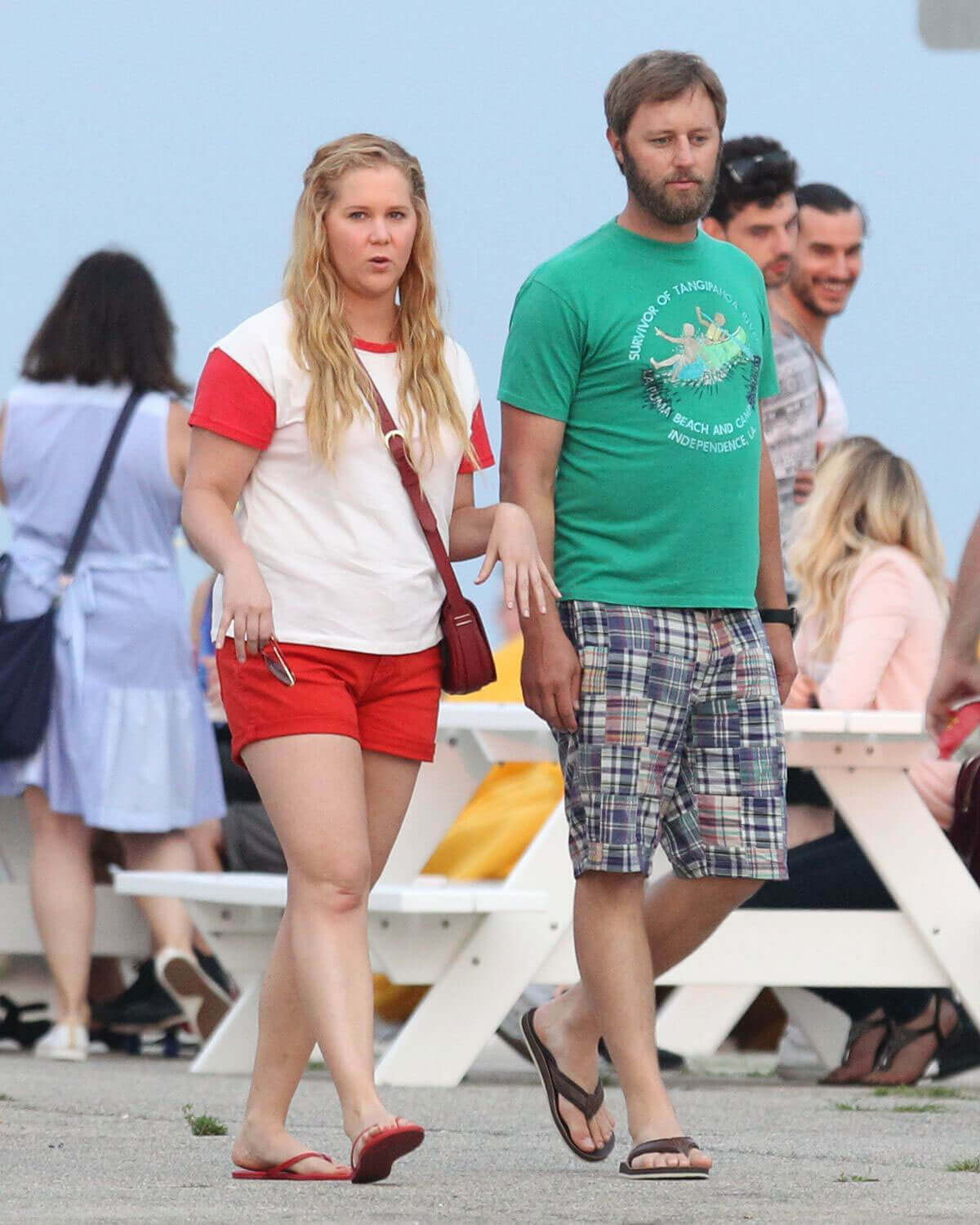 Amy Schumer and Rory Scovel Stills Out in Salisbury