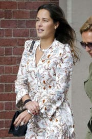 Ana Ivanović Stills Out in New York Images