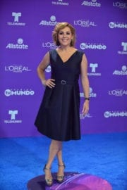 Ana María Canseco Stills at Telemundo's 2017 Premios tu Mundo at in Miami