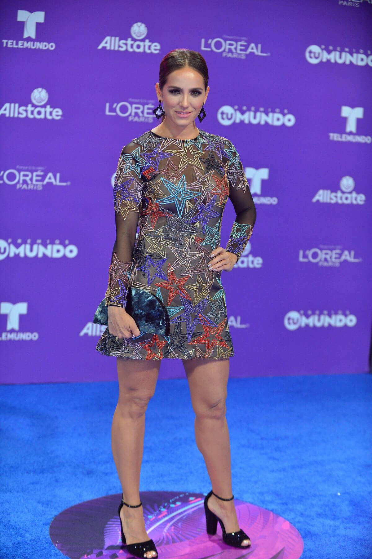 Andrea Minski Stills at Telemundo's 2017 Premios tu Mundo at in Miami