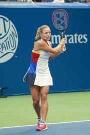 Angelique Kerber Stills at Arthur Ashe Presents Kids Day at US Open in New York