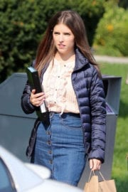 Anna Kendrick Stills on the Set of A Simple Favor in Toronto