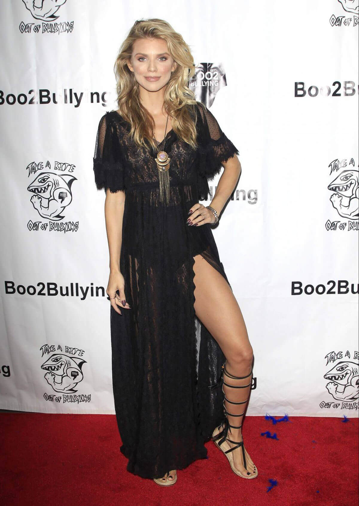 AnnaLynne McCord Stills Take a Bite Out of Bullying Event in Hollywood