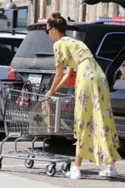 April Love Geary Stills Out for Grocery Shopping in Malibu