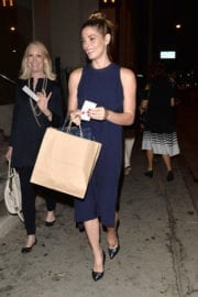 Ashley Greene Stills Out for Dinner in West Hollywood