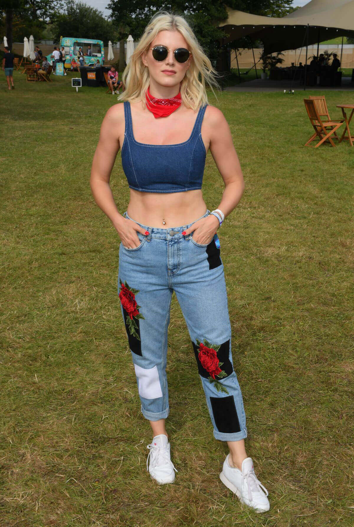 Ashley James Stills at V Festival in Chelmsford