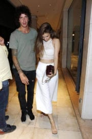Barbara Palvin Stills at a Club in St Tropez Images