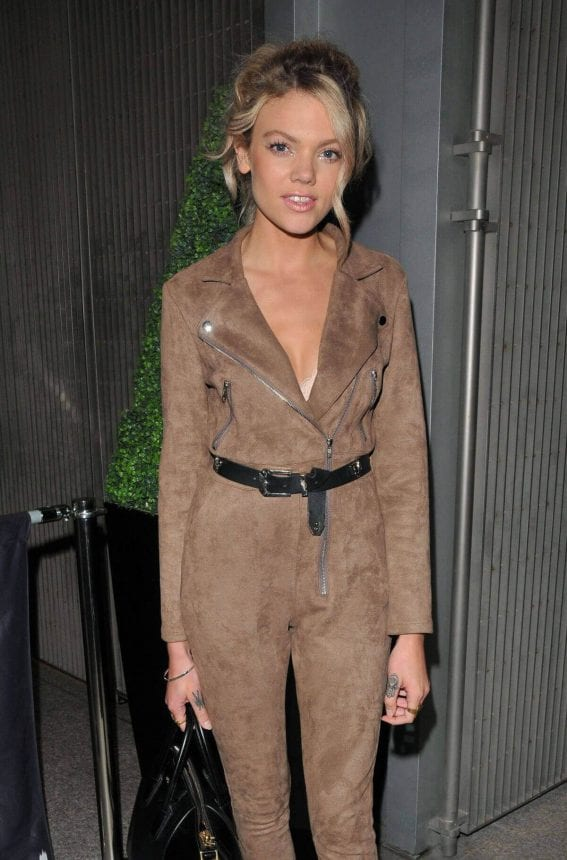 Becca Dudley Stills at Corona Sunsets Launch in London