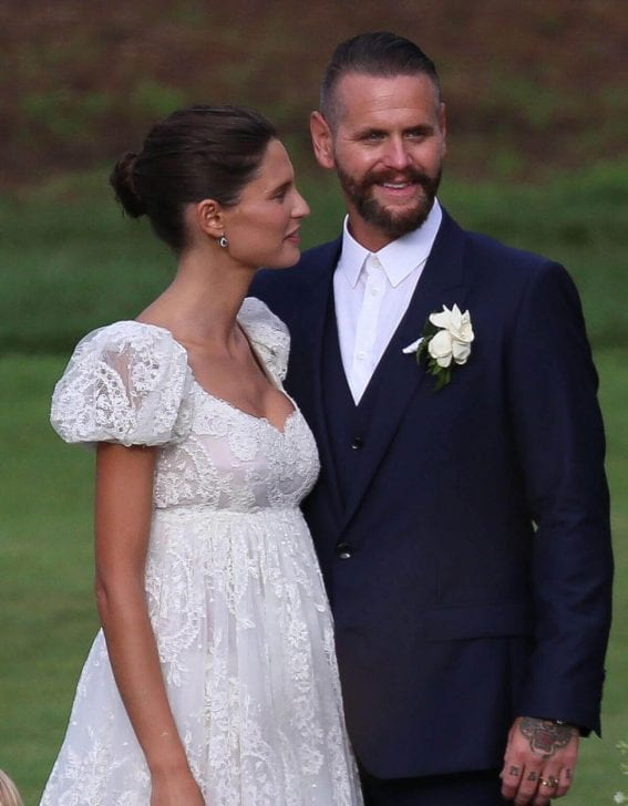Bianca Balti Marries and Matthew McRae Renew Their Vows in Laguna Beach