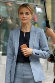 Bojana Novakovic Stills on the Set of Instinct in New York