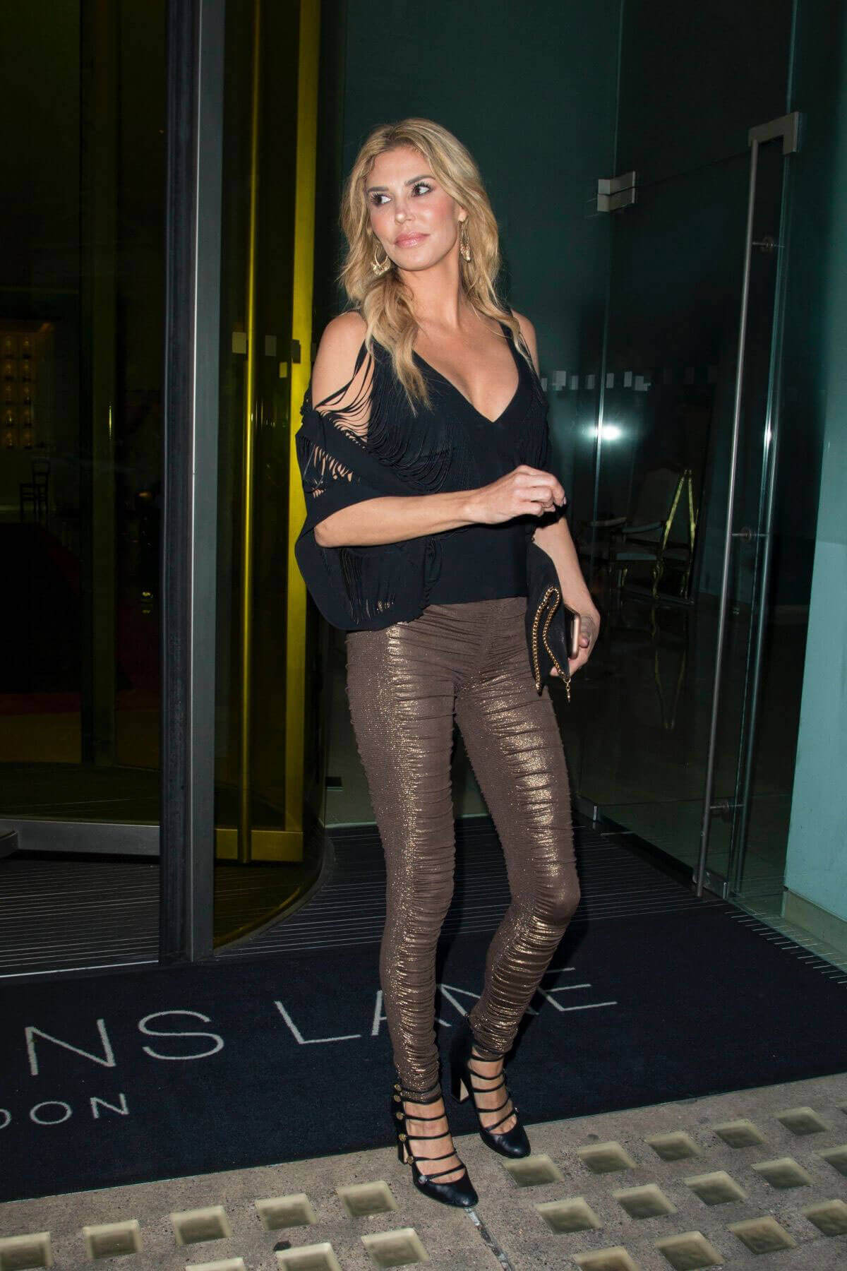 Brandi Glanville Stills Night Out in London Photos