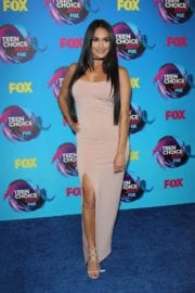 Brie Bella and Nikki Bella Twin Sisters at 2017 Teen Choice Awards in Los Angeles