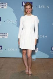 Brooklyn Decker Stills at Champion Equality Make it Your Business Panel in New York