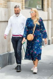 Busy Philipps Stills Out with Her Husband in New York