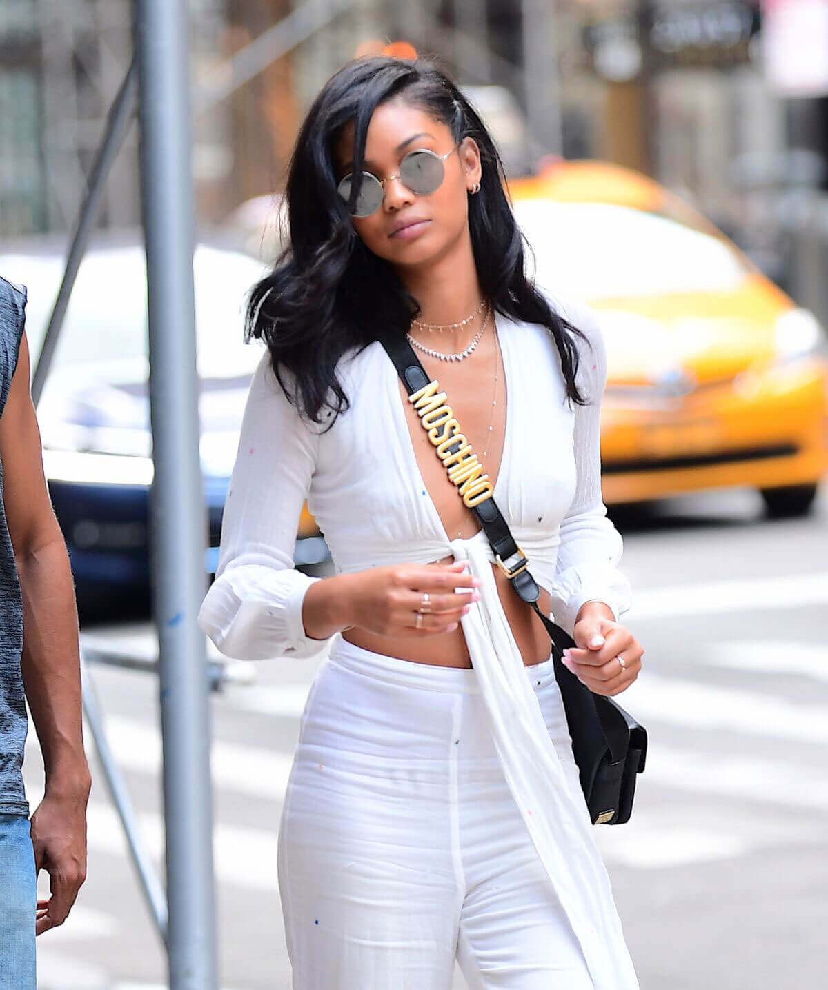 Chanel Iman Stills Out and About in New York