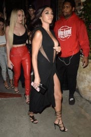 Chantel Jeffries Stills at Beauty and Essex in Los Angeles