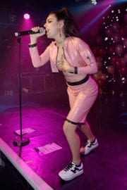 Charli XCX Stills Performs at G-A-Y Club Heaven in London
