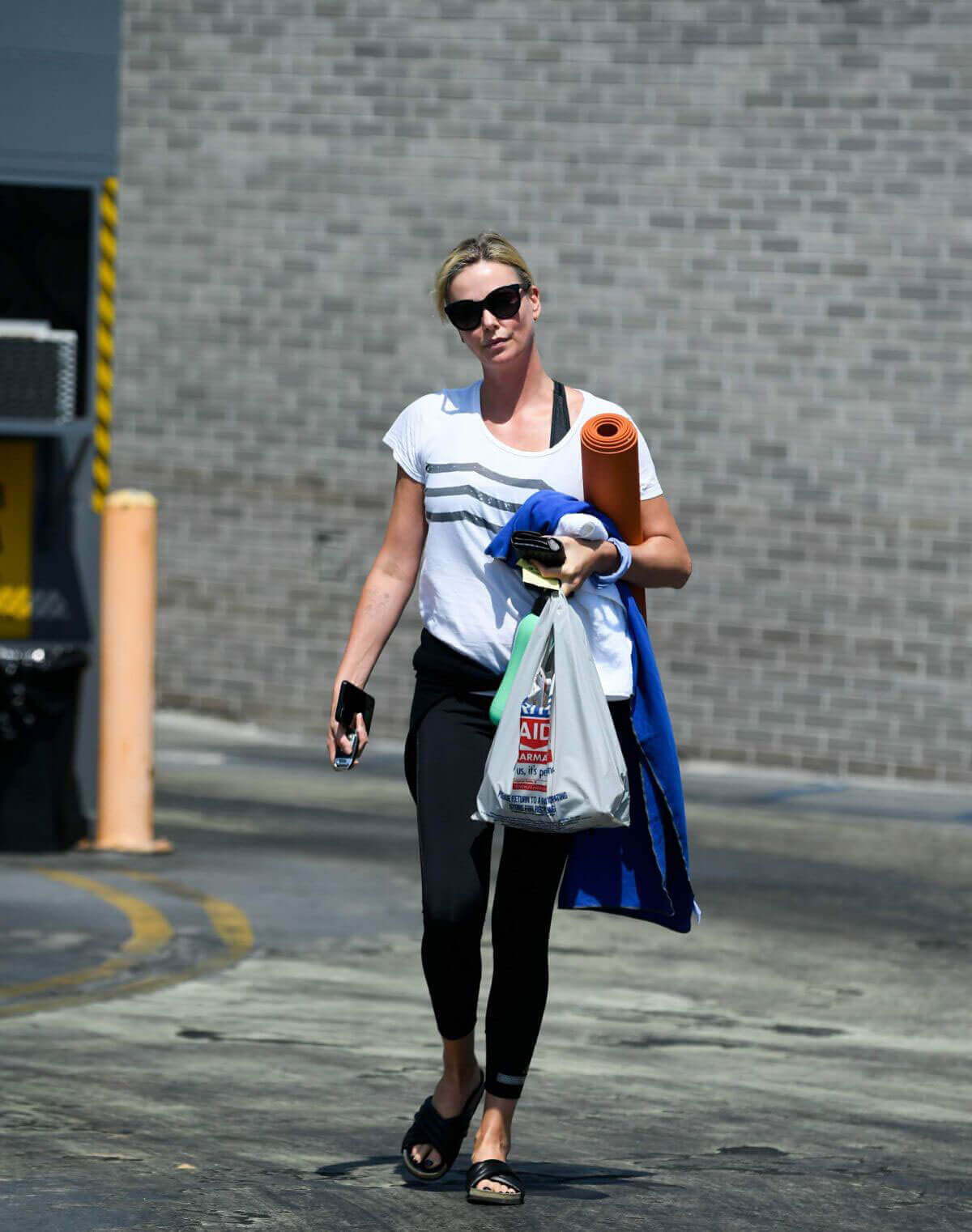 Charlize Theron Stills Leaves a Gym in Los Angeles