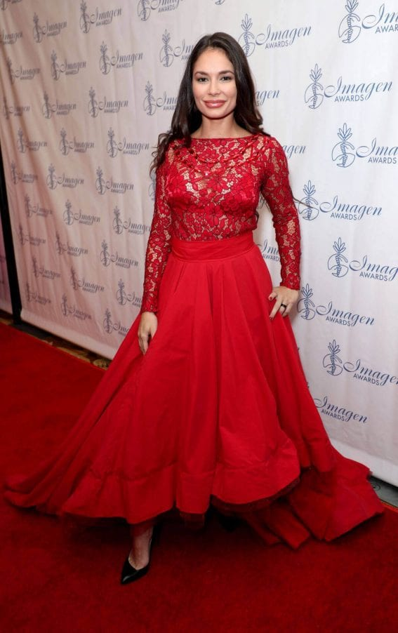 Christiana Leucas at 32nd Annual Imagen Awards 2017 in Los Angeles