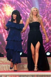 Claudia Winkleman and Tess Daly Stills at Strictly Come Dancing 2017 in London