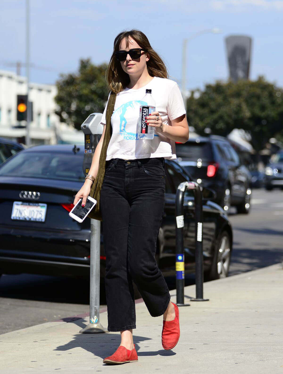 Dakota Johnson Stills Out and About in Los Angeles