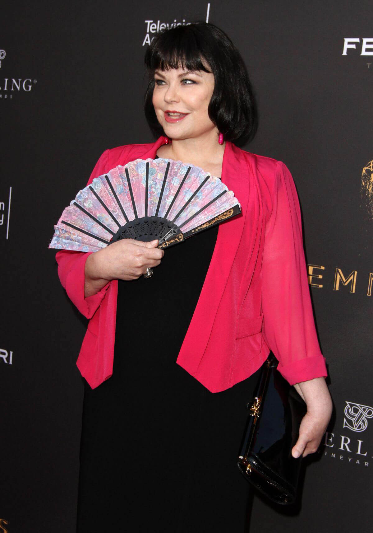 Delta Burke Stills at Emmys Cocktail Reception in Los Angeles