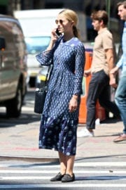 Dianna Agron Stills Out and About in New York