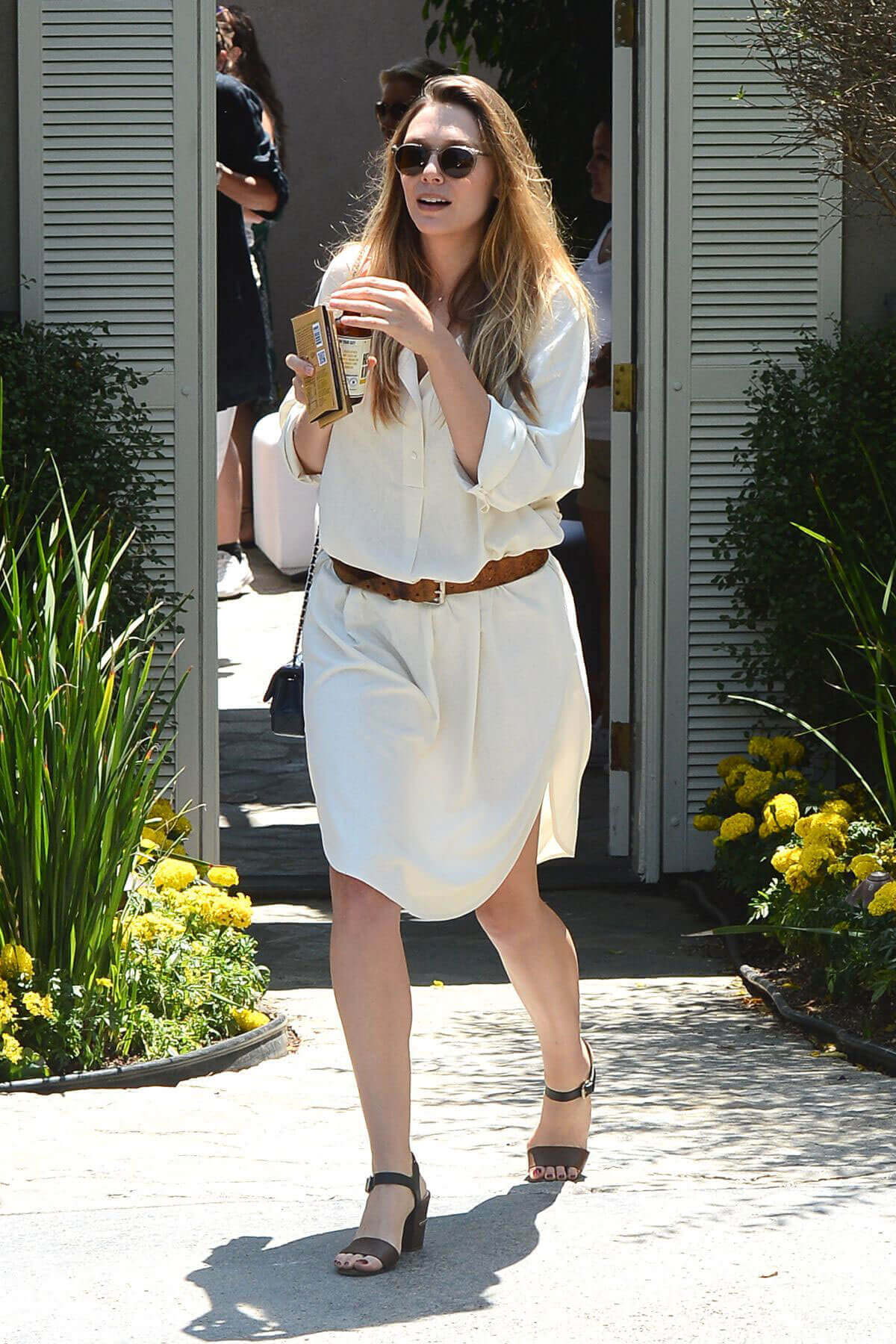 Elizabeth Olsen Stills at Instyle's Day of Indulgence Party in Brentwood
