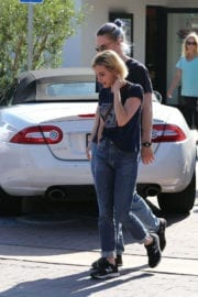 Emma Roberts and Evan Peters Stills Out in Malibu