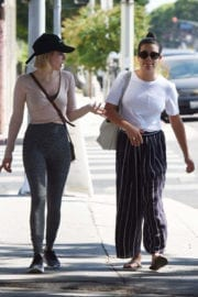 Emma Roberts & Lea Michele Stills Out in West Hollywood