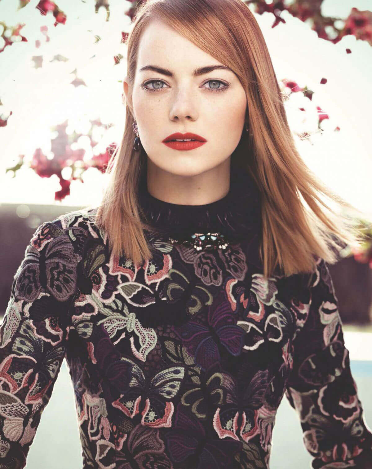Emma Stone Photos for Who Magazine, Glamour Issue 2017