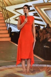 Emma Willis Stills at Celebrity Big Brother Live Eviction in London