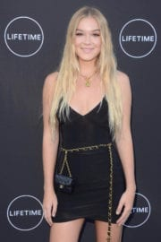 Faith Anne Schroder at Growing Up Supermodel Premiere in Studio City