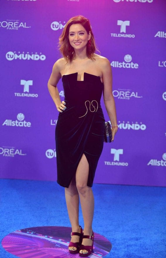Felicidad Aveleyra Stills at Telemundo's 2017 Premios tu Mundo at in Miami