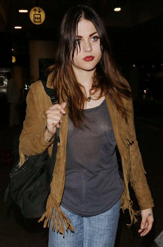 Frances Bean Cobain Stills at LAX Airport in Los Angeles