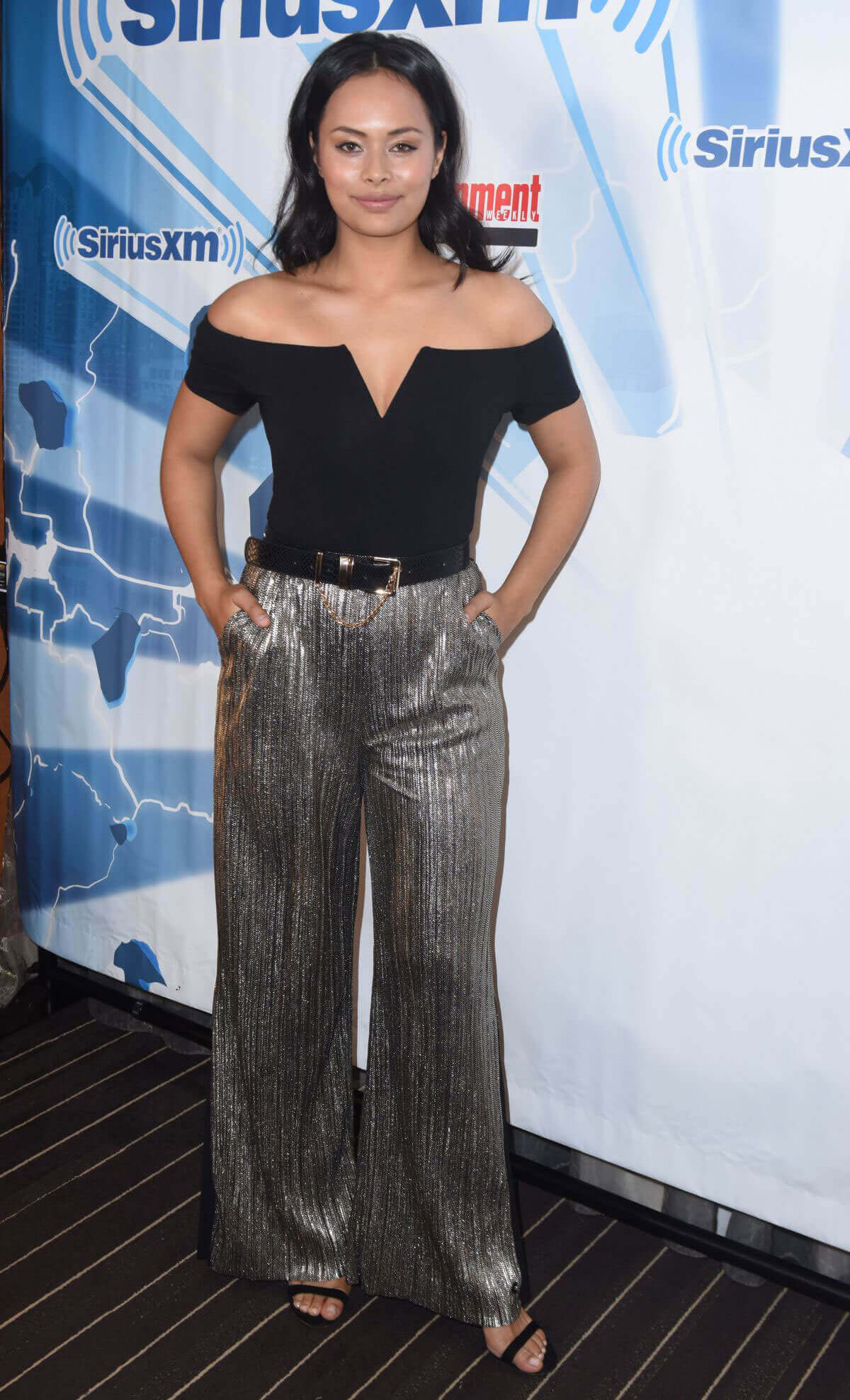 Frankie Adams Stills at SiriusXM's Entertainment Weekly Radio at Comic-con in San Diego