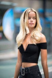 Frida Aasen Stills at Fittings for Victoria's Secret Fashion Show 2017 in New York