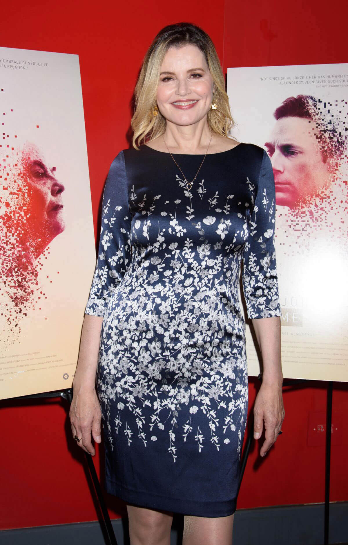 Geena Davis Stills at Marjorie Prime Premiere in New York