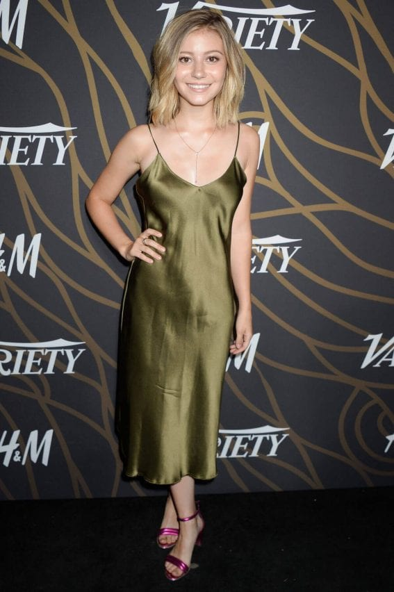 Genevieve Hannelius Stills at Variety Power of Young Hollywood in Los Angeles