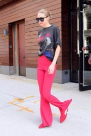 Gigi Hadid Stills Out and About in New York Images
