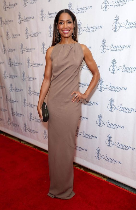 Gina Torres Stills at 32nd Annual Imagen Awards 2017 in Los Angeles