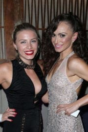 Grace Valerie Stills at Karina Smirnoff's New Make Up Collection Launch