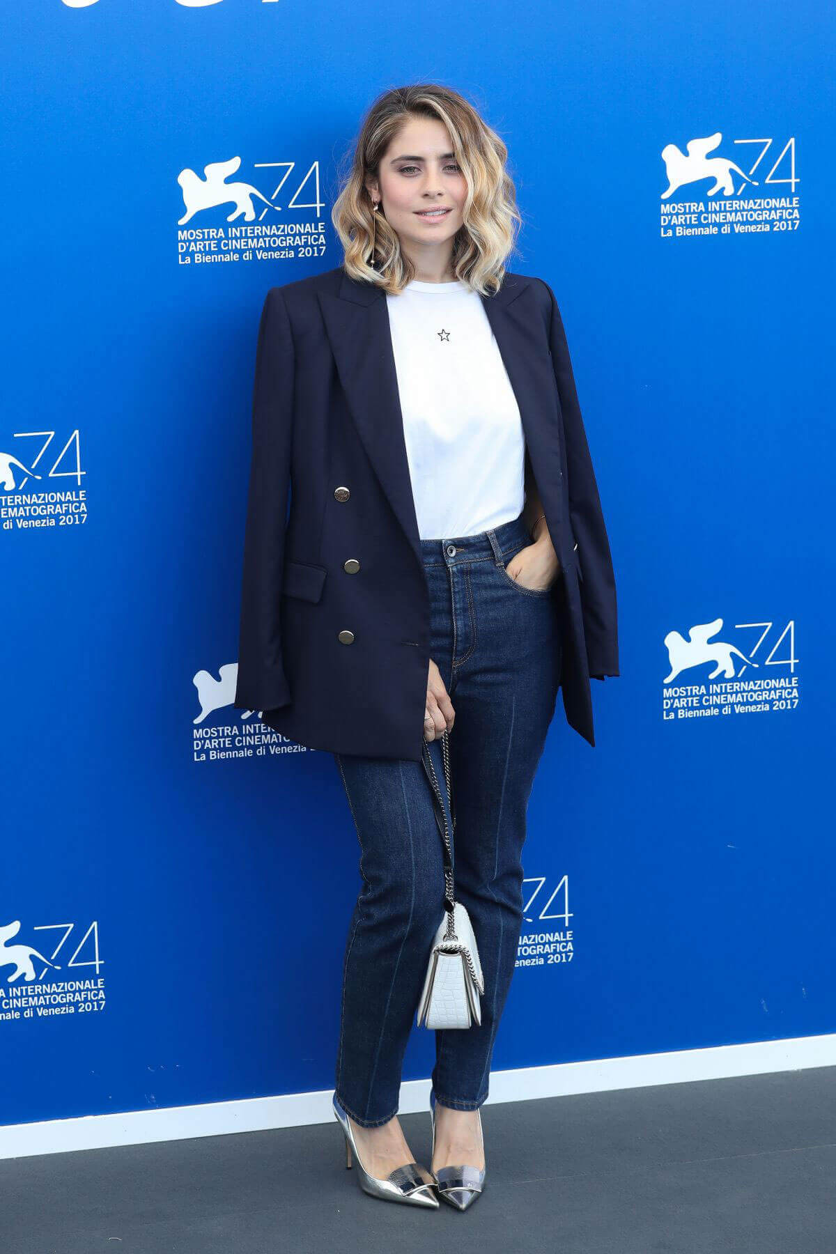 Greta Scarano Stills at Jury Photocall at 74th Venice International Film Festival